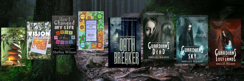Twitter Header with 8 books