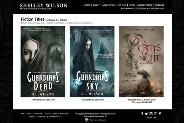 Shelley Wilson Website: Book Cover Gallery