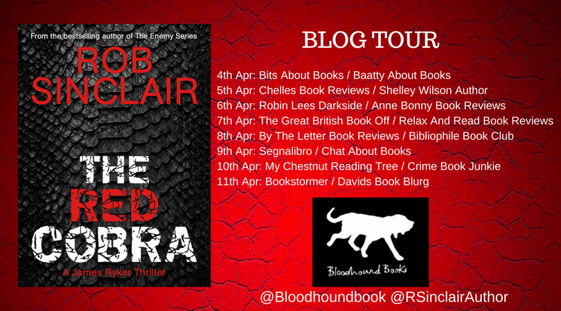 Rob Sinclair Blog Tour
