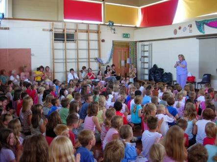 last school assembly