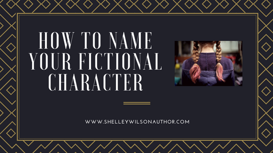 How to Name Your Fictional Character #WritingTips