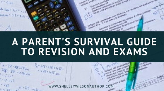 A Parent's Survival Guide to Revision and Exams, GCSE Exams, GCSEs,