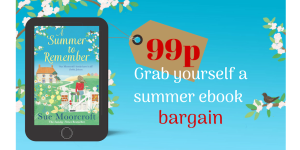 A Summer to Remember, Sue Moorcroft, Avon Books, 99p Promotion