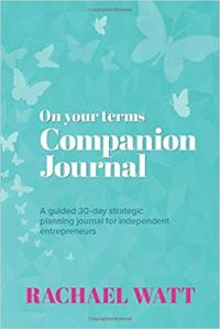 On Your Terms Journal, Rachael Watt