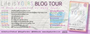 Life is Yours Blog Tour