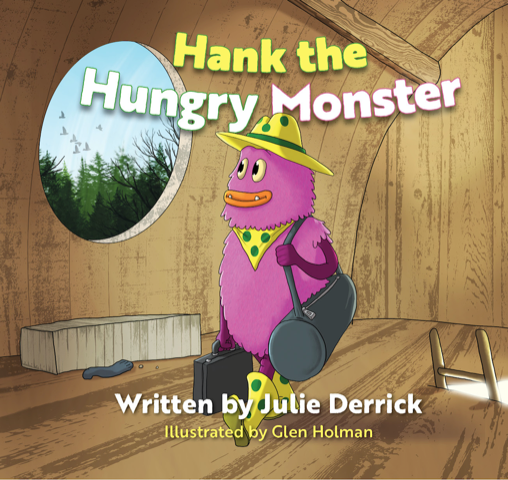 Hank the Hungry Monster | Julie Derrick | Author Interview | Shelley Wilson Author | Child OCD | Children's Book